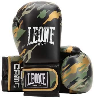 10 Oz Neo Camo Faux Leather Boxing Glove