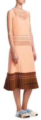 Prada Crepe De Chine Silk Dress
