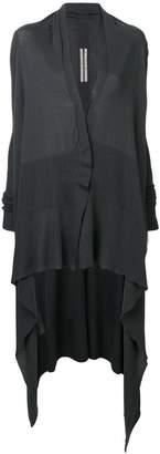 Rick Owens draped long cardigan