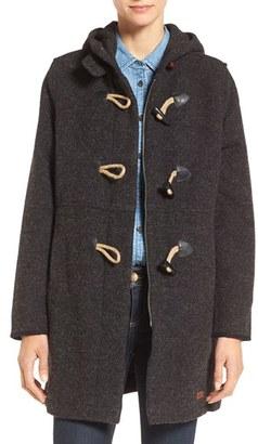 Women's Woolrich Century Wool Blend Duffle Coat $275 thestylecure.com