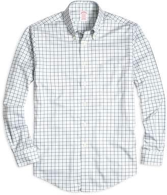 Brooks Brothers Non-Iron Madison Fit Tattersall Sport Shirt
