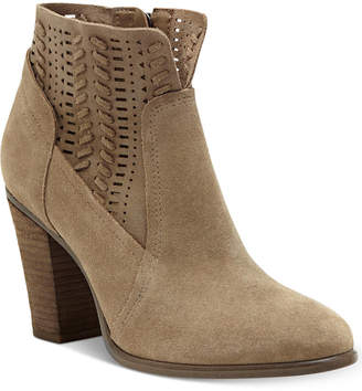 Vince Camuto Fenyia Woven Ankle Booties Women's Shoes
