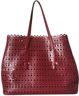 Alaia Leather tote