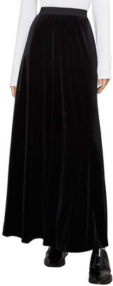 BCBGMAXAZRIA Aimy Velvet Maxi Skirt