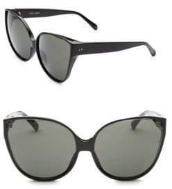 Linda Farrow 656 C1 Oversized Cat Eye Sunglasses