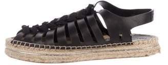 Rebecca Minkoff Leather Espadrille Sandals