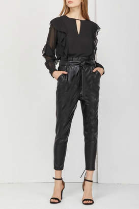 Greylin Vegan Leather Pant