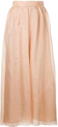 Rochas full maxi skirt