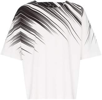 Issey Miyake printed cotton T-shirt