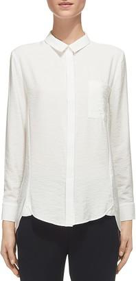 Whistles Emilia Button-Down Shirt $160 thestylecure.com