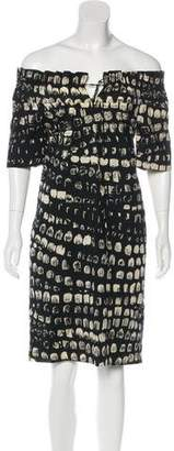 Thakoon Short Sleeve Mini Dress