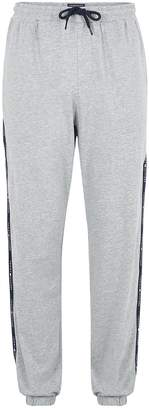 Tommy Hilfiger TOMMY HILFIGER'S Grey Marl Tipped Joggers