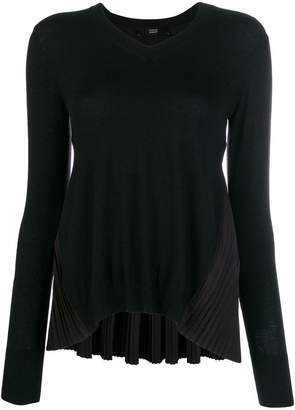Steffen Schraut pleated knit sweater