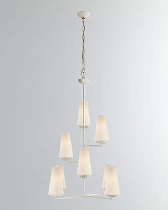 AERIN Fontaine Vertical 8-Light Chandelier
