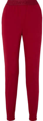Calvin Klein Underwear Cotton-blend Fleece Track Pants - Crimson