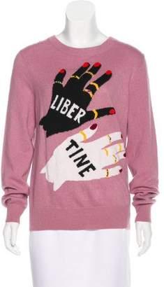 Libertine Swarovski-Embellished Cashmere Sweater