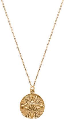 joolz by Martha Calvo Sun Medallion Necklace