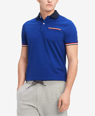 Tommy Hilfiger Men's Homer Custom Fit Polo Shirt