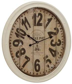 Benzara Contemporary Metal Wall Clock