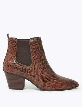 Marks and Spencer Wide Fit Chelsea Western Boots