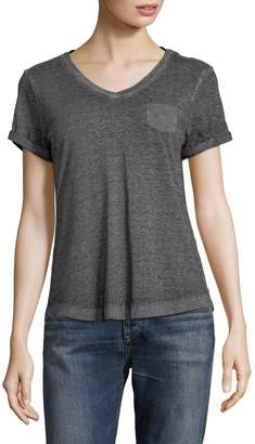 Style&Co. Style & Co. Petite Short-Sleeve V-Neck Tee