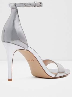c4179dec901 Aldo Silver Heeled Sandals For Women - ShopStyle UK