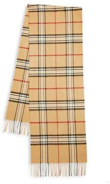 Lord & Taylor Classic Plaid Scarf