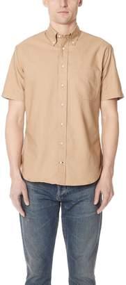 Gitman Brothers Short Sleeve Overdye Oxford Shirt