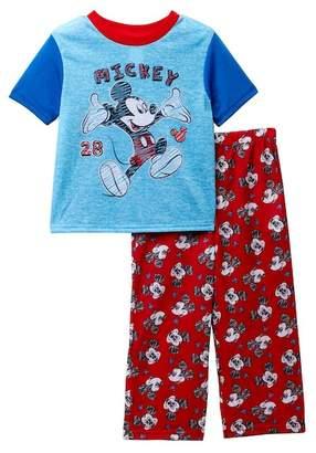 AME Mickey Mouse 28 Pajama Set (Toddler Boys)