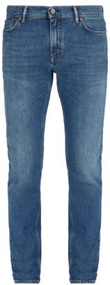 Acne Studios North Slim Fit Stretch Cotton Jeans - Mens - Blue