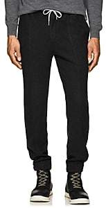 Marco Pescarolo Men's Brushed Silk Jogger Pants - Charcoal