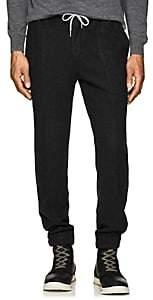 Marco Pescarolo Men's Brushed Silk Jogger Pants - Charcoal