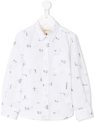 Bellerose Kids patterned shirt