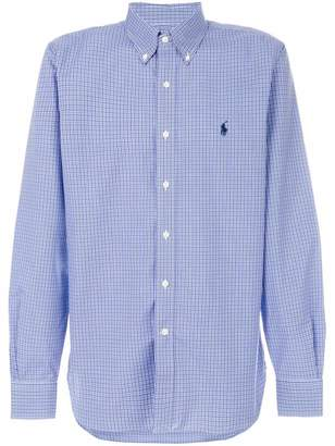 Polo Ralph Lauren micro checked button-down shirt