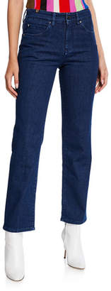 Atelier Notify Aloha Straight-Leg Ankle Jeans