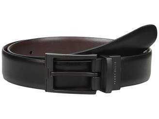 Perry Ellis Portfolio Buckle Reversible Dress Belt