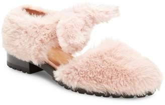F-Troupe Women's Leather Round-Toe Flat
