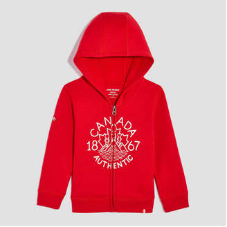 Joe Fresh Toddler Girls Canada Fleece Hoodie