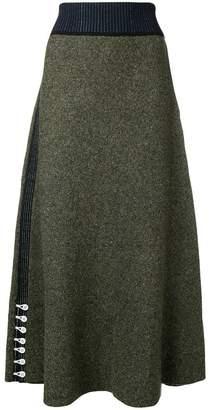 3.1 Phillip Lim textured long skirt
