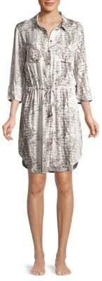 Heidi Klein Al Mini Shirt Dress