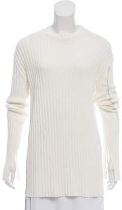 Celine Lightweight Rib Knit Sweater
