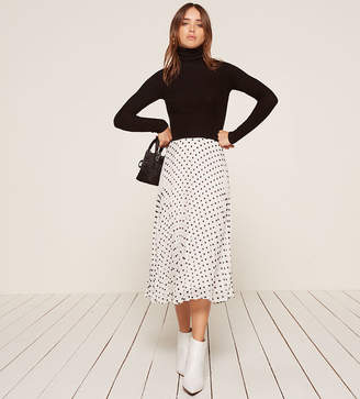 Reformation Pleated Skirt