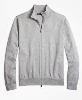 Brooks Brothers Supima Cotton Full-Zip Cardigan