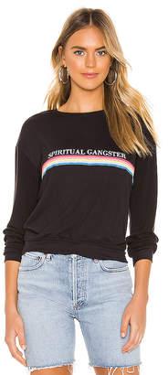 Spiritual Gangster SG Rainbow Neck Savasana Sweater