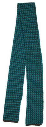 Dries Van Noten Patterned Wool Scarf