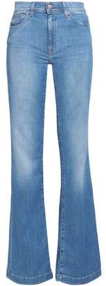 7 For All Mankind Charlize High-rise Bootcut Jeans