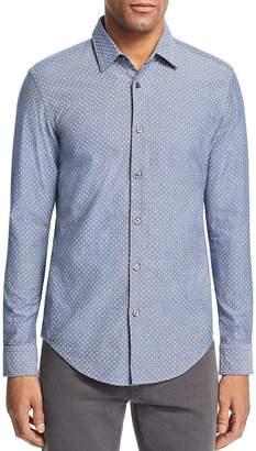 BOSS Ronni Confetti Slim Fit Button-Down Shirt