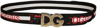 Dolce & Gabbana Logo Band Belt