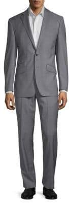 Notch Lapel Wool Suit