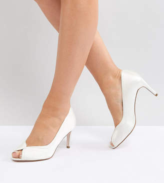 Asos Summer Wide Fit Mid Heels Bridal